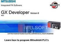 Software for PLC Mitsubishi GX Developer 8.91 Update