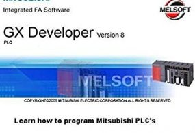 Software for PLC Mitsubishi GX Developer 8.91 Update