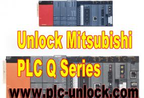 Unlock password for Mitsubishi Q series PLC