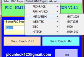 CRACK ALL HMI-PLC and UNLOCK SERVICE